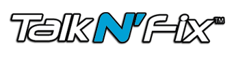 talk n fix logo